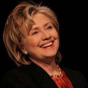 Fotos desnudas falsas sobre Hillary Clinton